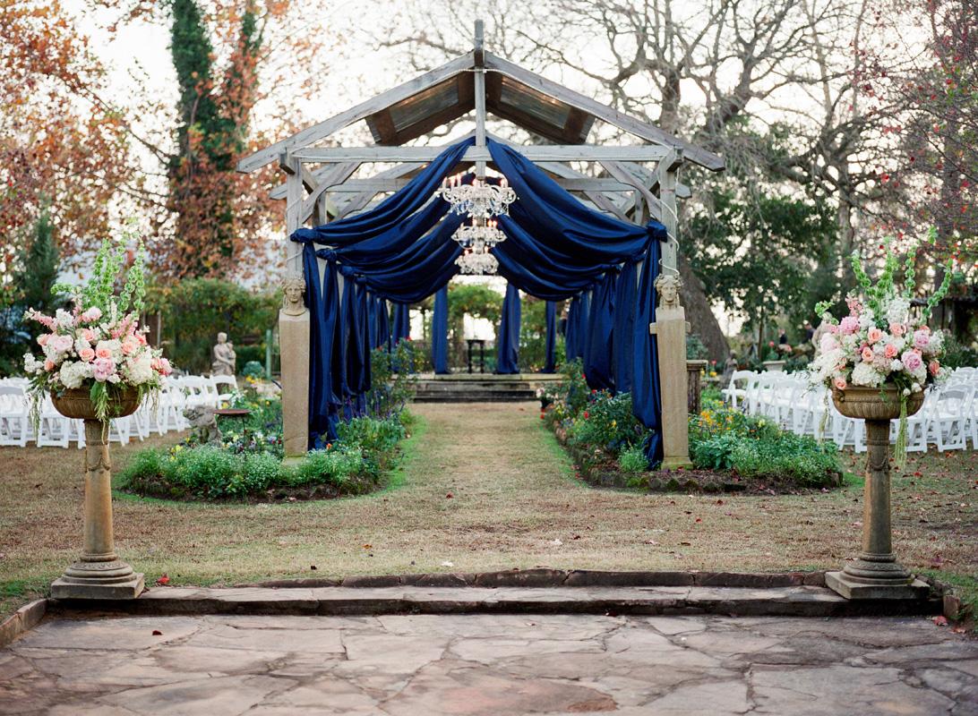 Outdoor Wedding Venue Arch With Skylights - Elizabeth Anne ...
