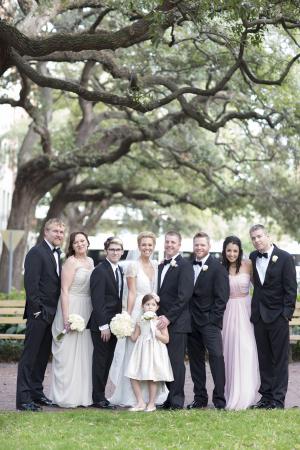 Pale Pink Bridesmaids Dresses
