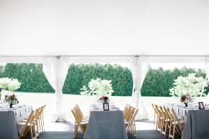 Pretty Tent Wedding Reception