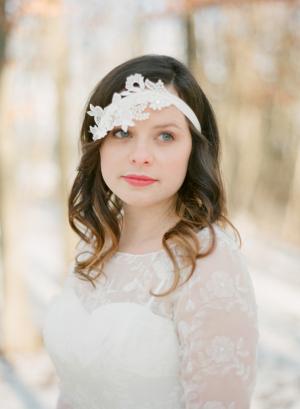 Rhinestone Flower Bridal Headpiece