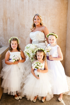 Rose Headpieces for Flower Girls