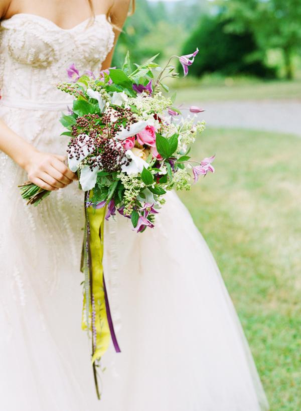 Rustic Elegant Wildflower Bouquet