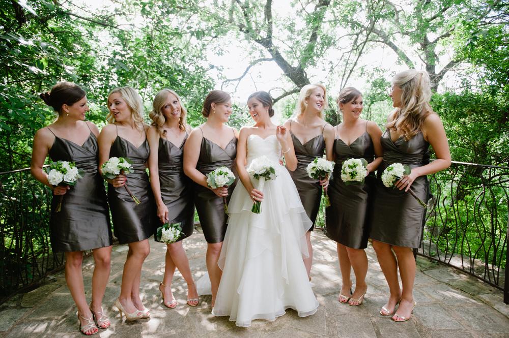 04d0eb8f4ed Short Dark Gray Spaghetti Strap Bridesmaids Dresses - Elizabeth Anne ...