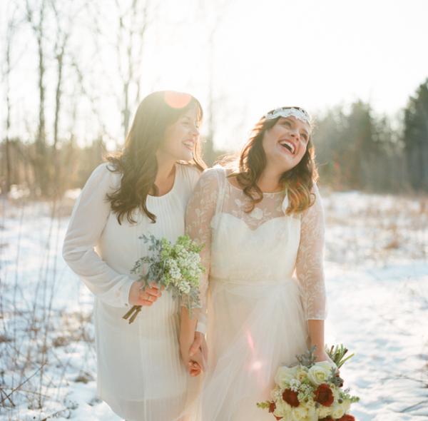 Snowy Winter Wedding Ideas