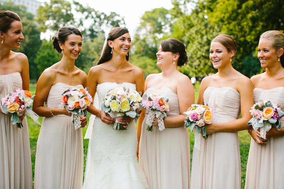Strapless Taupe Bridesmaids Dresses