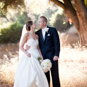 Strapless Wedding Gown With Waist Sash