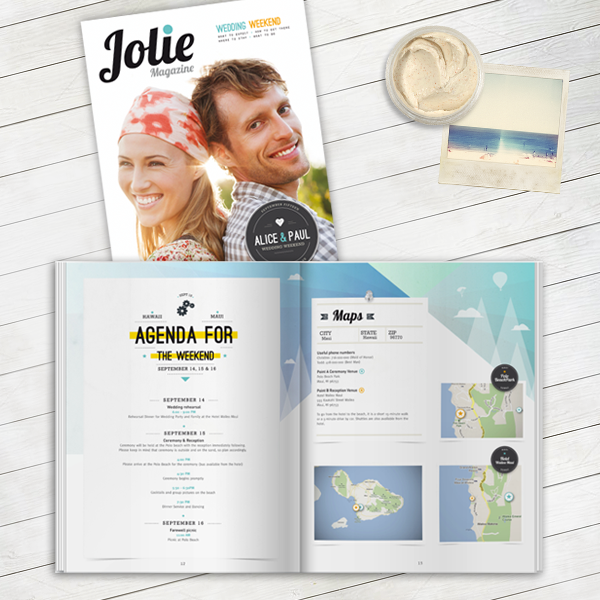 Personalized Wedding Magazines By Twenty Pages
