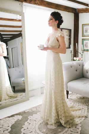 Vintage Lace Claire Pettibone Gown