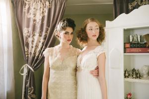 Vintage Style Lace Claire Pettibone Gowns