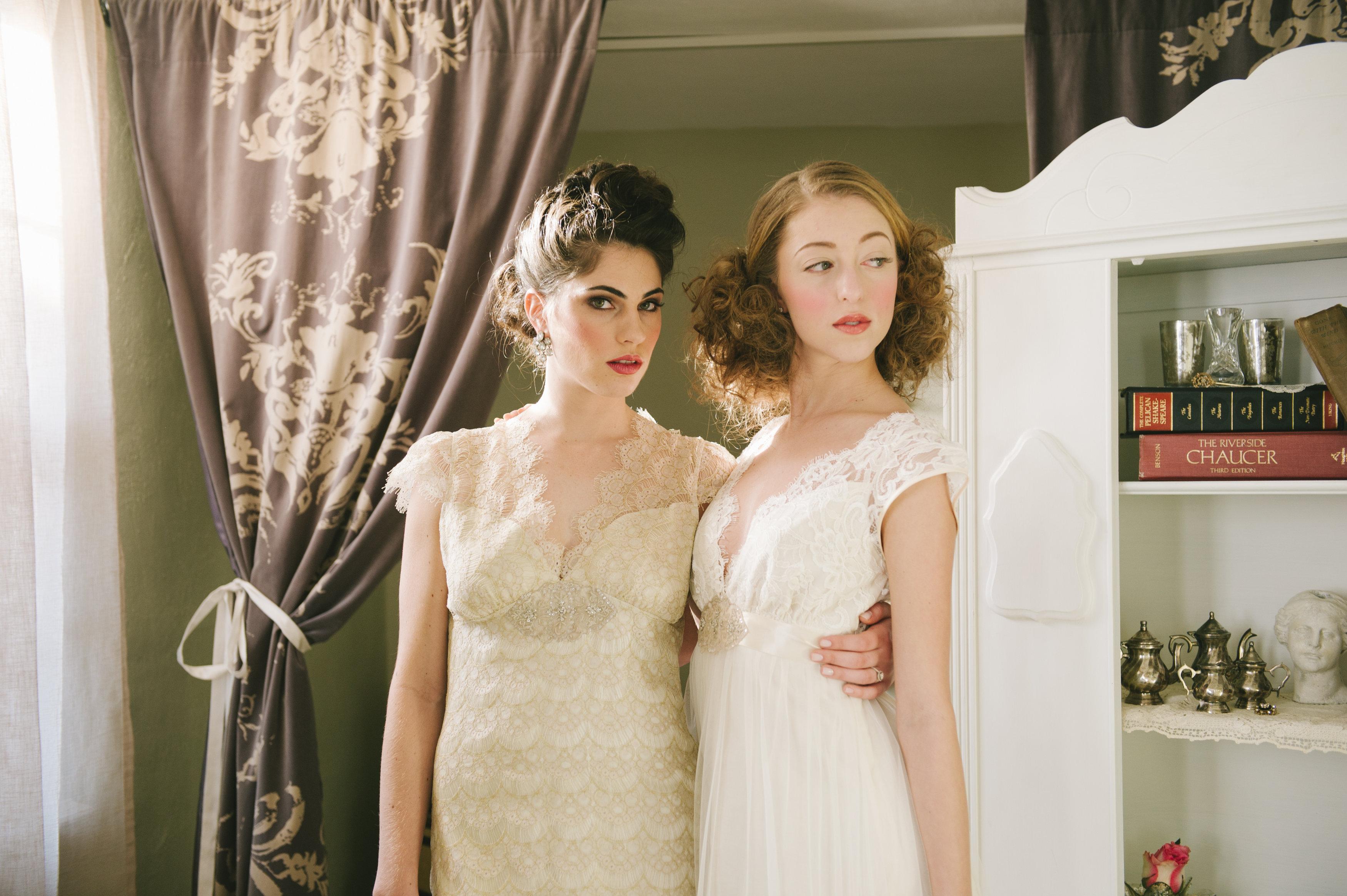 Romantic Claire Pettibone Gowns