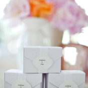 White Boxes for Wedding Favors
