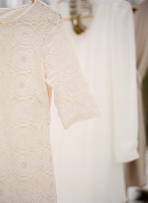 Winter White Wedding Gown