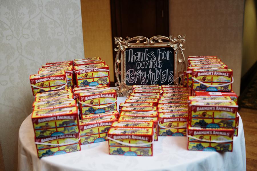 Animal Crackers Wedding Favors Elizabeth Anne Designs The Wedding