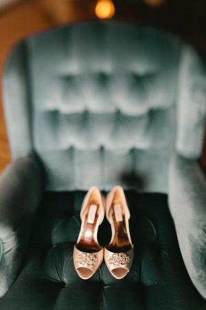 Badgley Mischka Peep Toe Shoes