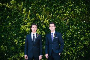 Blue Suits Groomsmen