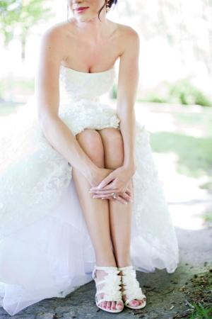 Bridal Shoes Tana Photography