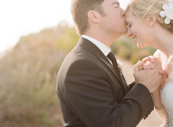 Bride and Groom Outdoor Portrait Beaux Arts Photographie