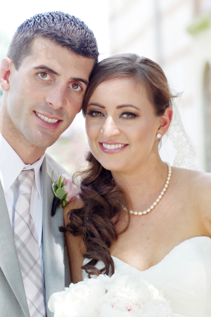 Bride and Groom Portrait Jen Lynne Photography
