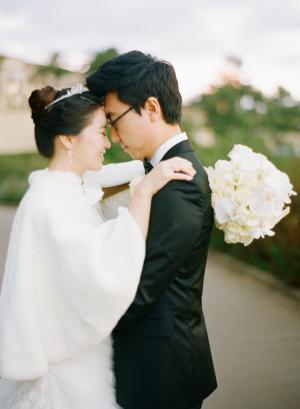 Bride in Capelet