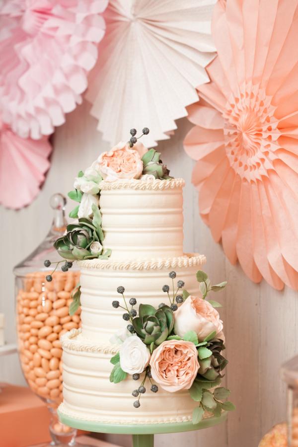 Brunch Wedding Cake