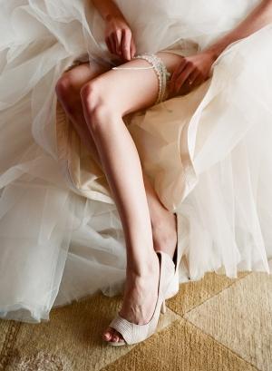 Classic Bridal Garter