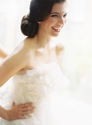 Classic Bride in Vera Wang