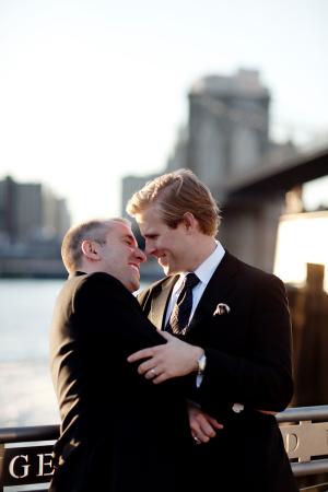 Classic New York Wedding Portrait
