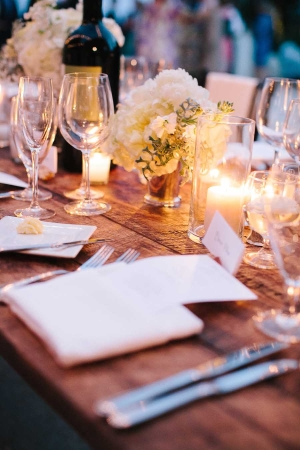 Classic Reception Table Decor Ideas