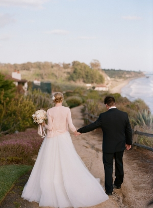 Couple Santa Barbara Beach Portrait Beaux Arts Photographie