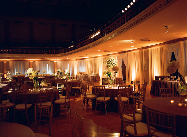 Cream Green and Brown Reception Decor Ideas