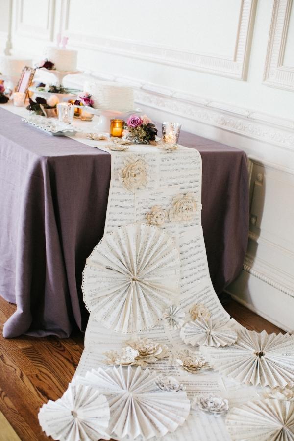 Diy Paper Pinwheel Table Runner