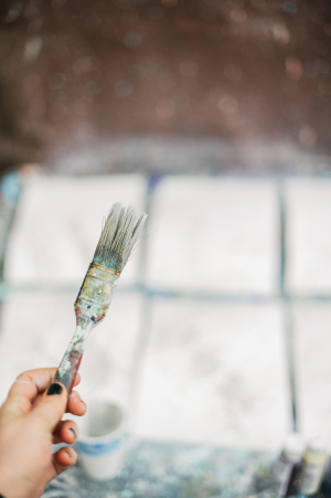 DIY Splatter Painted Notecards 10