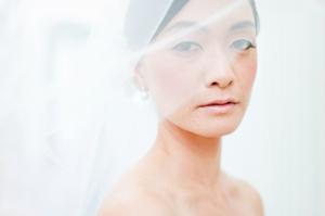 Elegant Bridal Portrait Connie Lyu