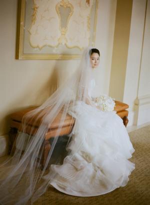 Elegant Bridal Portrait Esther Sun