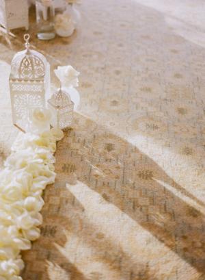 Elegant Ceremony Aisle