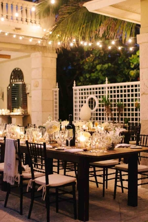Elegant Evening Ocean Wedding