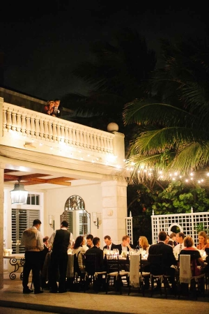 Elegant Evening Wedding