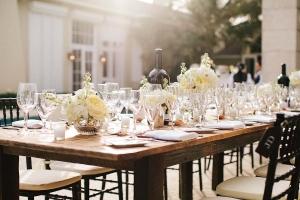 Elegant Ivory Brown Tabletop