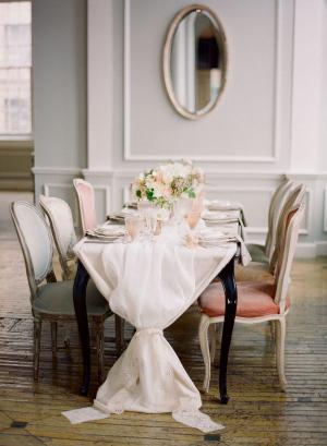 Elegant Tied Table Runner