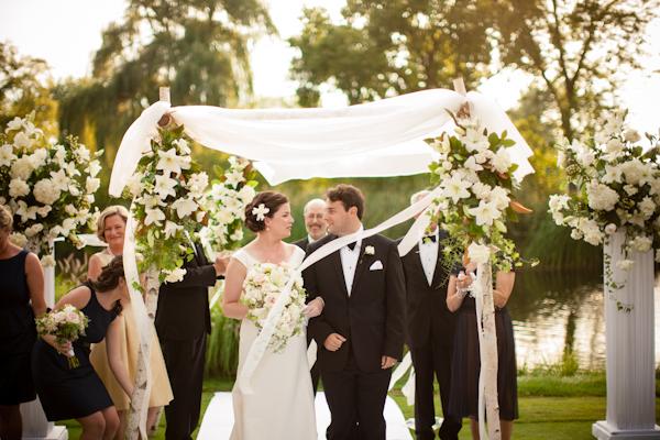 Elegant Wedding Ceremony Chuppah
