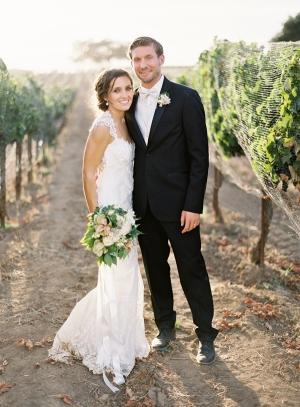 Elegant Winery Wedding Jose Villa