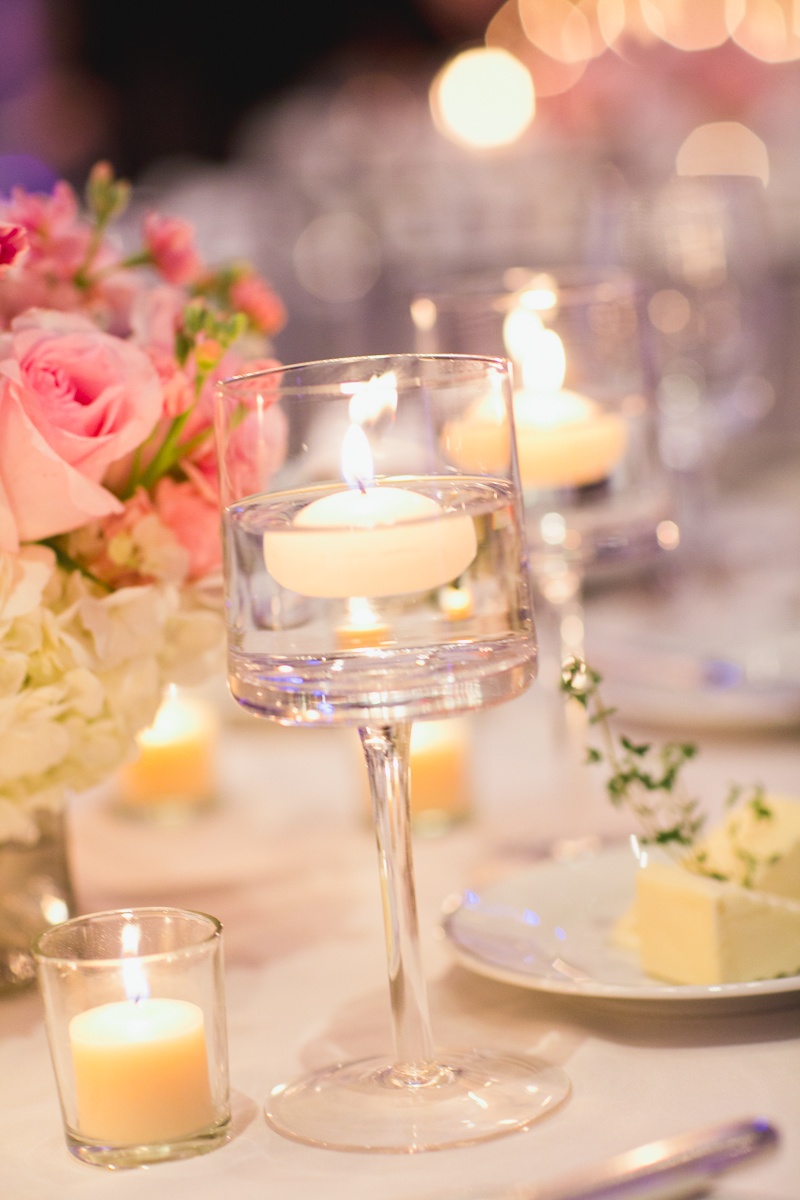 Floating Candles In Clear Glass Vases Elizabeth Anne