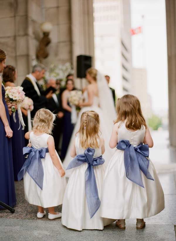 Flower Girl Dress with Bow