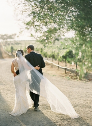 Flowing Cathedral Length Veil