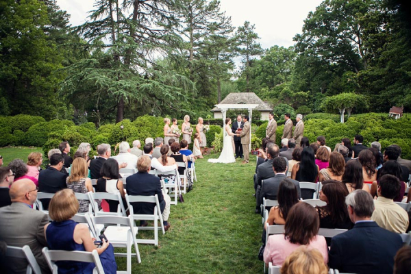 Garden Wedding Venue Ideas Melissa Tuck Photography - Elizabeth Anne ...