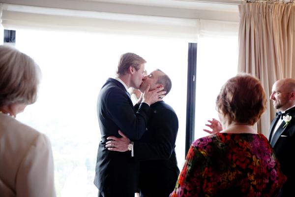 Intimate New York Wedding Ceremony