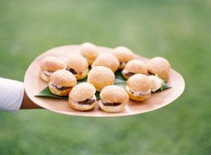 Mini Burger Appetizer