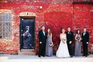 Modern Chicago Wedding Portraits