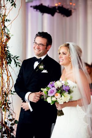 Modern Purple Wedding Room 1520
