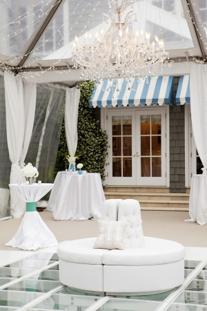 Outdoor Sea Island Reception